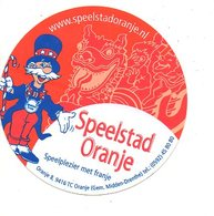 Sticker Autocollant Speelstad Oranje Gem Midden Drenthe   Reclame Publiciteit Publicité - Stickers