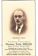 Souvenir De Décès - Devotion Images