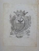 Ex-libris Héraldique XVIIIème - DURAND DE VILLA - Ex-libris
