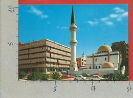 CARTOLINA VG LIBIA - TRIPOLI - Moschea Sidi Beliman E Palazzo Mitchell Cotts - 10 X 15 - 1967 - Libyen