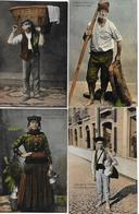 Costumes De PORTUGAL - Lot De 8 Cartes Postales Anciennes Des Métiers Non Postées Parfait état Voir Les 3 Scans - Portugal