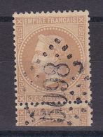 D102/ NAPOLEON N° 28B OBL GC 5098 SMYRNE - 1863-1870 Napoléon III. Laure
