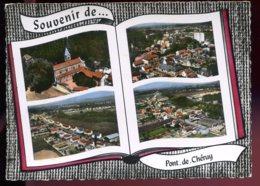 CPM 38 Souvenir De PONT DE CHERUY Multi Vues - France