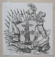 Ex-libris Héraldique XVIIIème - VON GRAFFENSED - Ex-libris