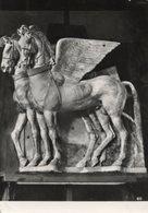 Tarquinia - Cartolina Antica CAVALLI ALATI (III Sec.a.c.) Museo - R23 - Sculture