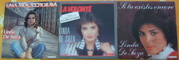 LINDA DE SUZA - Trois 45 Tours - Vinyles