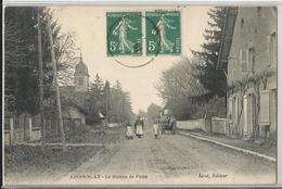 CPA - 39 - Chamblay - Le Bureau De Poste - Jura - Animée - Edition Sérot - Altri Comuni