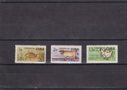 Cuba Nº 718 Al 720 - Nuevos