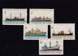 Cuba Nº 721 Al 725 - Nuevos