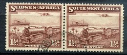 "Südwestafrika South West Africa Mi# 180-181 Gestempelt ""Transport"" - Südwestafrika (1923-1990)"