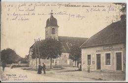 CPA - 39 - Chamblay -La Poste - Jura - - Altri Comuni