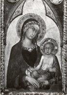 Orvieto - Cartolina Antica MADONA COL BAMBINO, S. Martini 1320, Museo Del Duomo - OTTIMA R23 - Religione & Esoterismo