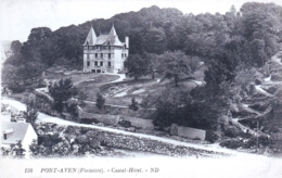 29 - Finistere - PONT AVEN  -  Castel Hotel - Pont Aven