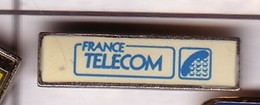 X72 Pin's France Telecom LOGO  Achat Immédiat - Telecom De Francia