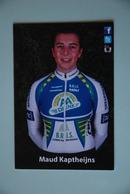CYCLISME: CYCLISTE : MAUD KAPTHEIJNS - Cyclisme
