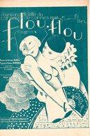 TRES BELLE PARTITION FLOU FLOU CHANSON OFFICIELLE DU CARNAVAL DE CANNES 1932 - EXC ETAT PROCHE DU NEUF - - Música & Instrumentos