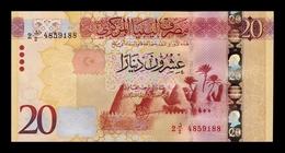 Libia Libya 20 Dinars 2016 Pick 83 SC UNC - Libia