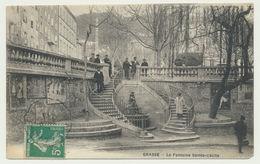 Grasse - La Fontaine Ste Cécile - Grasse