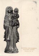 Francia - Cartolina Antica MADONNA COL BAMBINO, Scultura Lignea, Sec. XV - R23 - Religione & Esoterismo