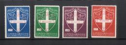 4524 - Etichette Di Beneficenza Con Lo Stemma Del Comune Di Belluno - Italia