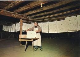 Ambert Animée Moulin Richard De Bas Musée Du Papier Les étendoirs Métiers - Ambert