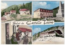 SALUTI DA CASTELLO TESINO - TRENTO - VEDUTE - Trento