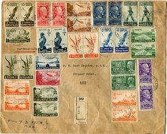 AFRIQUE ORIENTALE LETTRE RECOMMANDEE DEPART ADDIS ABEBA 16-5-39 POUR ADEN - Eastern Africa