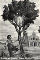 """Peschiera - Cartolina Antica """"Era Mattino Dell'11 Maggio Quando Una..."""" REGINA DEL GARDA, Santuario Del Frassino - R23 - Religione & Esoterismo"""
