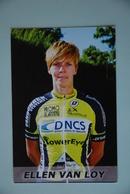 CYCLISME: CYCLISTE : ELLEN VAN LOY - Cyclisme