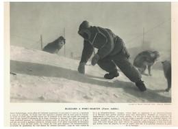Blizzard à Port-Martin (Terre Adélie) Documentation Photographique De 1957 - Autres