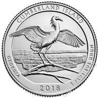 USA - 25 Cents 2018 - D UNC 44th Park Cumberland Island State Of Georgia Lemberg-Zp - Altri
