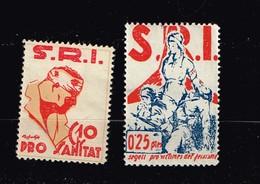 S.I.R. Pro Sanitat - Verschlussmarken Bürgerkrieg