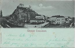 1899 -  TRENCIN   Trencsen , Gute Zustand, 2 Scan - Slovakia