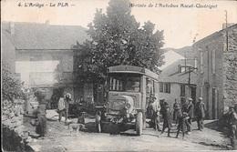 LE PLA - Arrivée De L'Autobus Ascat (Axat) - Quérigut. - Frankrijk
