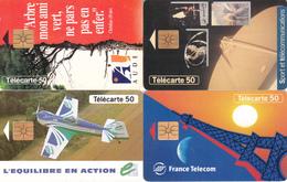 4 Télécartes (bon état) - Télécartes
