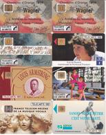 8 Télécartes (bon état) - Télécartes