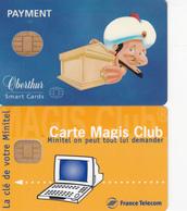 2 Cartes Magis Et Oberthur (bon état) - Télécartes