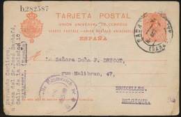 TARJETA POSTAL 1917  2 SCANS - Lettres & Documents