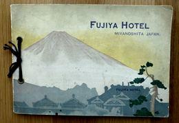 CARNET PUBLICITAIRE FUJIYA HOTEL - MIYANOSHITA JAPAN + PLAN - Tourism Brochures