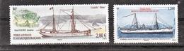 TAAF 764/765  Navires 2016 Neuf ** MNH Sin Charmela Faciale 4.04 - Nuovi