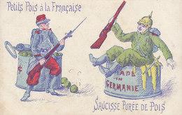 Militaria  : Petits Pois à La Française ////   JANV. 20 ///  N° 10376 - Patrióticos