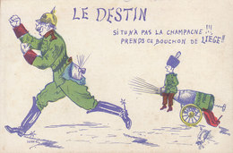 Militaria  :  Le Destin ..... ////   JANV. 20 ///  N° 10377 - Patrióticos