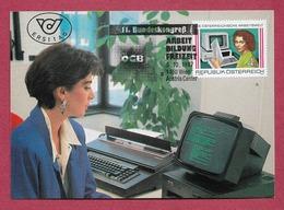 Österreich  1987   Mi.Nr. 1902 , Die Österreichische Arbeitswelt (II) - Maximum Card - Wien 5.10.1987 - Maximumkarten (MC)