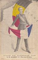 Militaria  :  S.M. Albert Roi Des Belges , Vous Ne Passerez Pas  ////   JANV. 20 ///  N° 10378 - Patrióticos