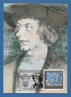 Österreich  1987 Mi.Nr. 1899 , 450. Todestag Von Paul Hofhaymer - Maximum Card - Radstadt 11. September 1987 - Maximumkarten (MC)