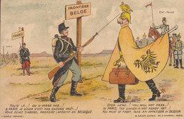 Militaria  :  Frontière Belge  ////   JANV. 20 ///  N° 10380 - Patrióticos