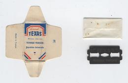 Lame De Rasoir Française TEXAS - French Safety Razor Blade Wrapper - Lames De Rasoir