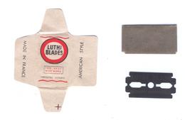 Lame De Rasoir Française LUTHI - French Safety Razor Blade Wrapper - Lames De Rasoir