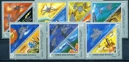 Yemen AR, Space, 1969, 7 Stamps - Espace