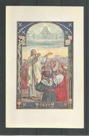 Oude Heilige Kaart Stijl Jos Speybrouck.  Lukas. 10. 1 - Jésus
